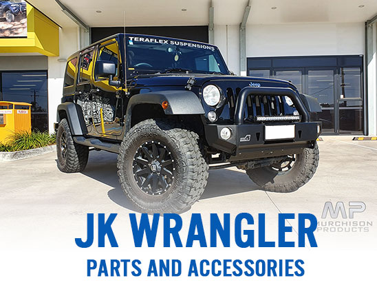 JK Wrangler parts and accessories, now in stock!