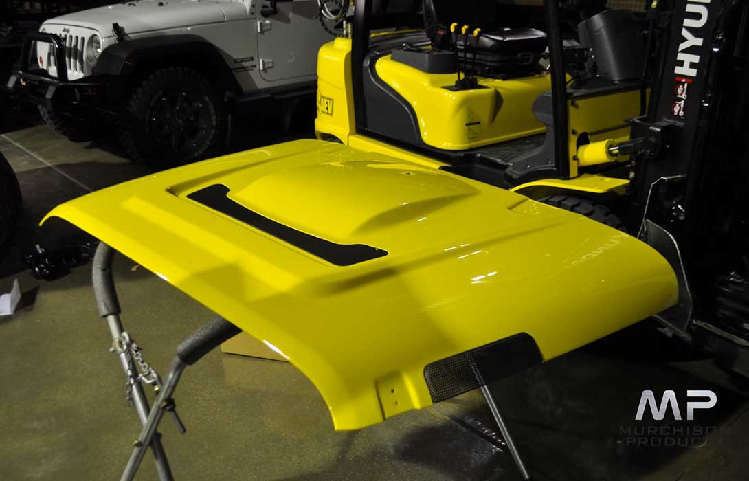 AEV JK Wrangler Heat Reduction Hood