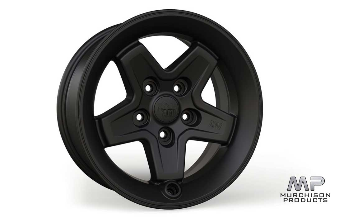 AEV JL Wrangler Pintler Matte Black Wheel