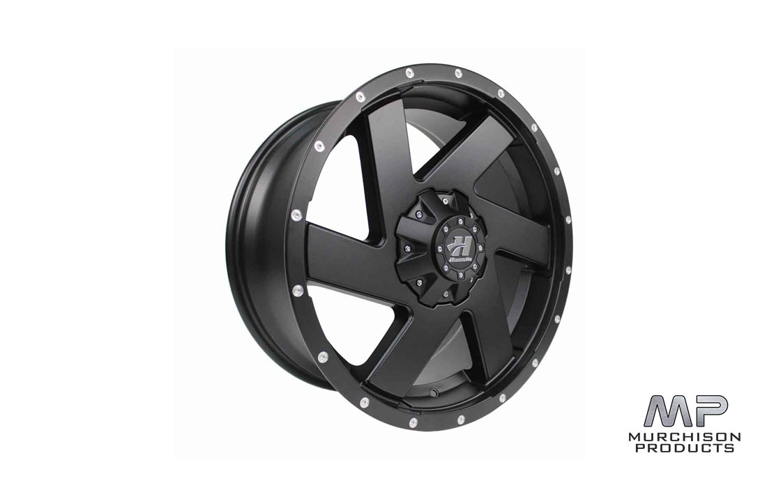 Hussla Chopper Wheel - Black 18x9