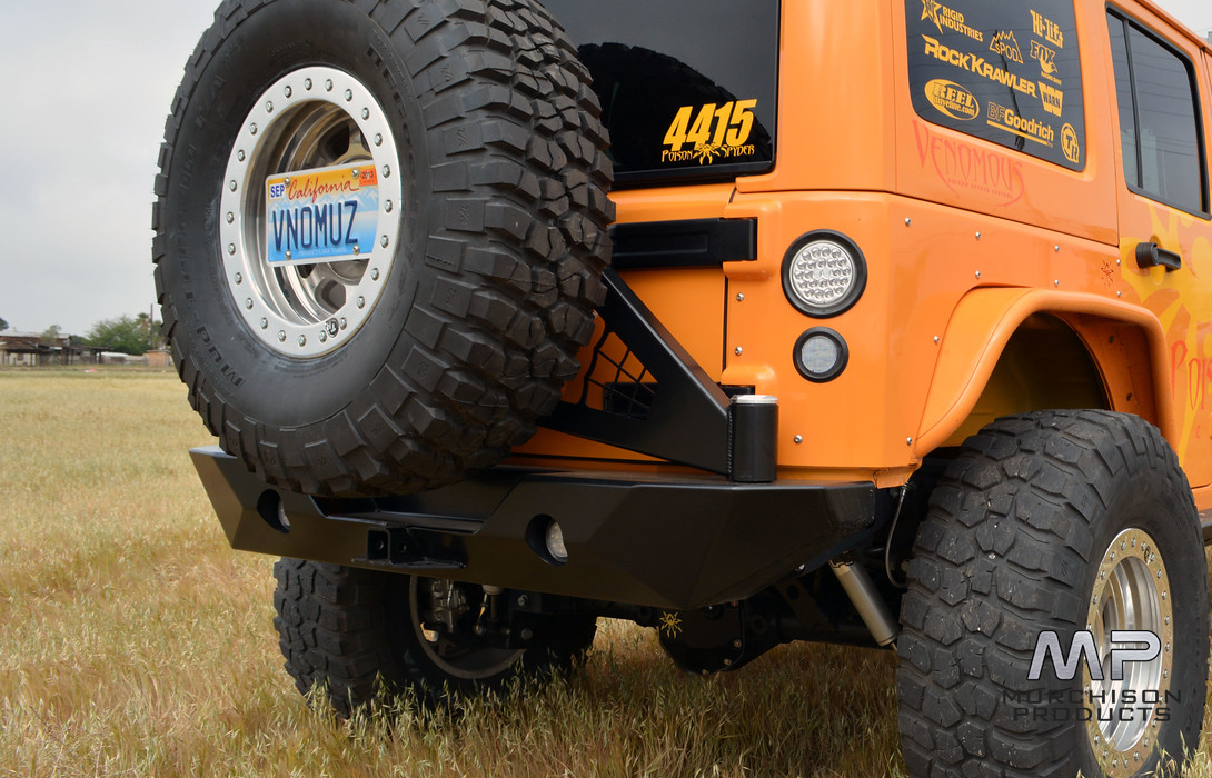 Poison Spyder Rock Brawler II Rear Bar and Tyre Carrier