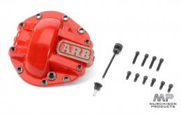 ARB Competition Front Diff Cover - JL Wrangler, JT Gladiator - Red