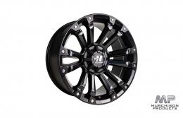 Hussla Ambush Wheel - Matte Black 18x9