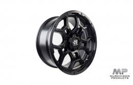 Hussla Trench Wheel Matte Black 18x9