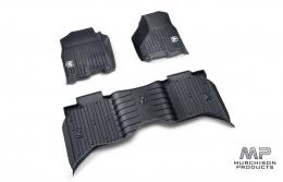 Mopar Ram 1500 Laramie All Weather Mats - Black