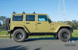 CRDSTU JK Wrangler Extreme Touring 3.0 - 4.5 Suspension System with Hi-Steer