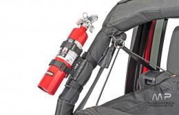 Rugged Ridge Quick Release Fire Extinguisher Holder