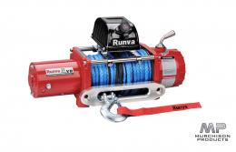 Runva 11XP 12v Synthetic Rope (Red Body)