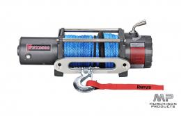 Runva EWX9500 12V with Synthetic Rope