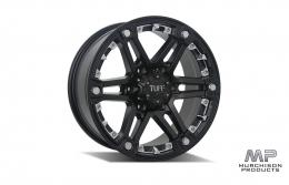 Tuff T-01 Wheel - Black/Silver