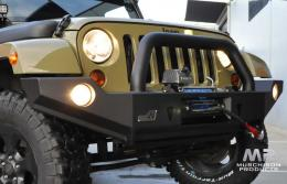 Uneek 4x4 JK Wrangler Bull Bar, Single Hoop