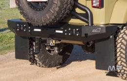 Uneek 4x4 JK Wrangler Rear Bar