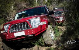 Uneek 4x4 KK Cherokee Bull Bar, inc Bash Plate