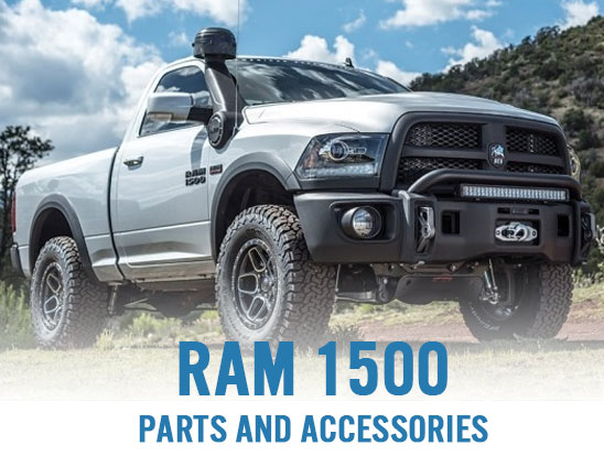 Ram 1500 parts and accessories, now in stock!