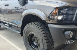 Bushwacker Ram 1500 Max Coverage Smooth Front Fender Flares