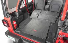 Mopar JL Wrangler Rear Cargo Mat (Cloth interior)