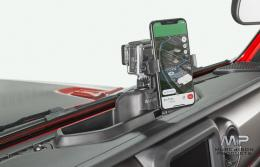 Rugged Ridge JL Wrangler Dash Multi-Mount and Phone Holder