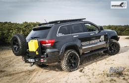 Uneek WK2 Grand Cherokee Rear Bar